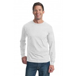 DISCONTINUED Fruit of the Loom  HD Cotton & 100% Cotton Long Sleeve T-Shirt. 4930