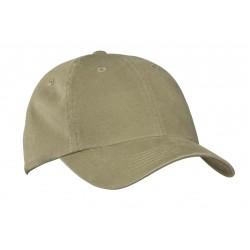 Port Authority  Garment-Washed Cap. PWU