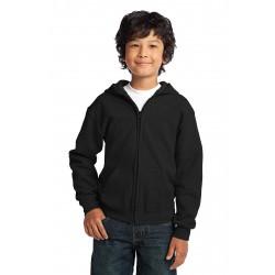 Gildan  Youth Heavy Blend & Full-Zip Hooded Sweatshirt. 18600B