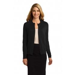 Port Authority  Ladies Cardigan Sweater. LSW287