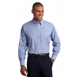 Port Authority  Tall Crosshatch Easy Care Shirt. TLS640