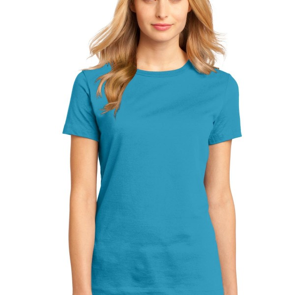District  Women's Perfect Weight  Tee. DM104L
