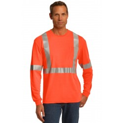 CornerStone  ANSI 107 Class 2 Long Sleeve Safety T-Shirt. CS401LS