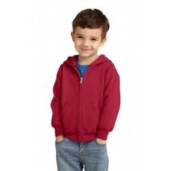 Port & Company  Toddler Core Fleece Full-Zip Hooded Sweatshirt. CAR78TZH