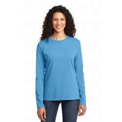 Port & Company  Ladies Long Sleeve Core Cotton Tee. LPC54LS