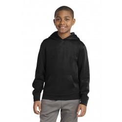 Sport-Tek  Youth Sport-Wick  Fleece Hooded Pullover. YST244