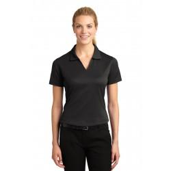 Sport-Tek  Ladies Dri-Mesh  V-Neck Polo. L469