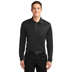 Port Authority  Silk Touch& Performance Long Sleeve Polo. K540LS