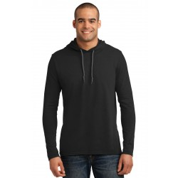 Anvil  100% Combed Ring Spun Cotton Long Sleeve Hooded T-Shirt. 987