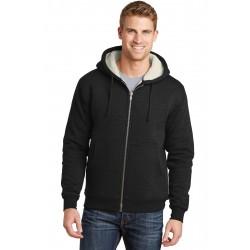 CornerStone  Heavyweight Sherpa-Lined Hooded Fleece Jacket. CS625