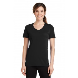Port & Company  Ladies Performance Blend V-Neck Tee. LPC381V