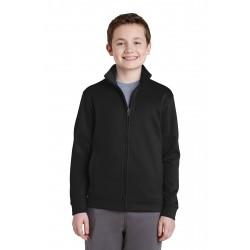 Sport-Tek  Youth Sport-Wick  Fleece Full-Zip Jacket. YST241