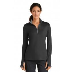 Nike Ladies Dri-FIT Stretch 1/2-Zip Cover-Up. 779796