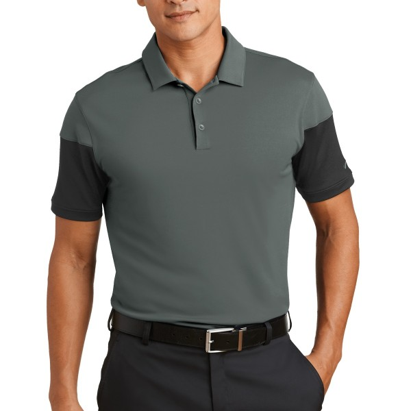 DISCONTINUED Nike Dri-FIT Sleeve Colorblock Modern Fit Polo. 779802