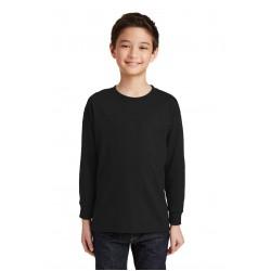 Gildan  Youth Heavy Cotton & 100% Cotton Long Sleeve T-Shirt. 5400B