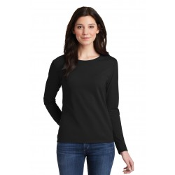 Gildan  Ladies Heavy Cotton & 100% Cotton Long Sleeve T-Shirt. 5400L