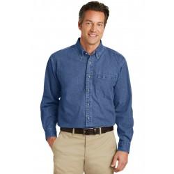 Port Authority  Heavyweight Denim Shirt. S100