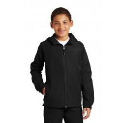 Sport-Tek  Youth Hooded Raglan Jacket. YST73
