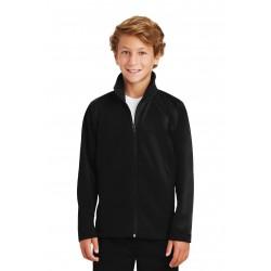 Sport-Tek  Youth Tricot Track Jacket. YST90