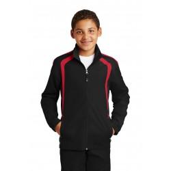 Sport-Tek  Youth Colorblock Raglan Jacket. YST60