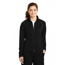 Sport-Tek  Ladies Tricot Track Jacket. LST90