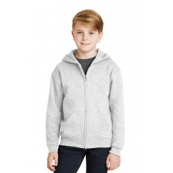 JERZEES  - Youth NuBlend  Full-Zip Hooded Sweatshirt. 993B