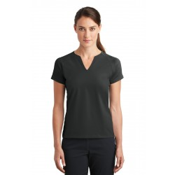 DISCONTINUED Nike Ladies Dri-FIT Stretch Woven V-Neck Top. 838960