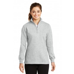 Sport-Tek  Ladies 1/4-Zip Sweatshirt. LST253