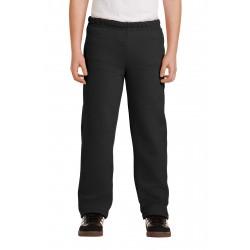 Gildan  Youth Heavy Blend & Open Bottom Sweatpant. 18400B