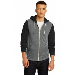 Alternative Colorblock Rocky Eco & -Fleece Zip Hoodie. AA32023