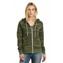 Alternative Women's Adrian Eco & -Fleece Zip Hoodie. AA9573