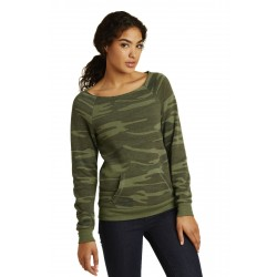 Alternative Women's Maniac Eco & -Fleece Sweatshirt. AA9582