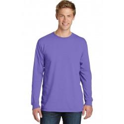 Port & Company  Beach Wash & Garment-Dyed Long Sleeve Tee PC099LS