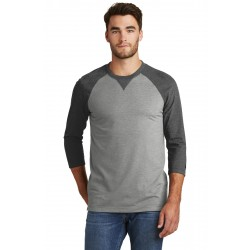 New Era   Sueded Cotton Blend 3/4-Sleeve Baseball Raglan Tee. NEA121
