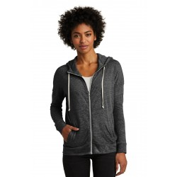 Alternative Women's Eco-Jersey & Cool-Down Zip Hoodie. AA2896