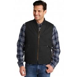 CornerStone  Washed Duck Cloth Vest. CSV40