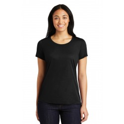 Sport-Tek  Ladies PosiCharge  Competitor & Cotton Touch & Scoop Neck Tee. LST450