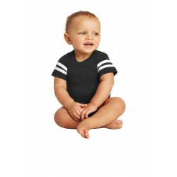 Rabbit Skins & Infant Football Fine Jersey Bodysuit. RS4437