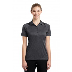 Sport-Tek  Ladies Heather Colorblock Contender & Polo. LST665