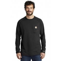 Carhartt Force   Cotton Delmont Long Sleeve T-Shirt. CT100393