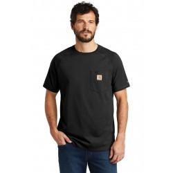 Carhartt Force   Cotton Delmont Short Sleeve T-Shirt. CT100410
