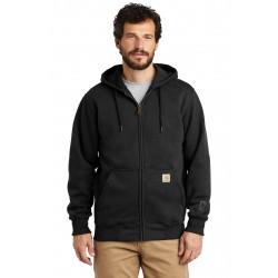 Carhartt   Rain Defender   Paxton Heavyweight Hooded Zip-Front Sweatshirt. CT100614
