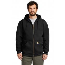 Carhartt   Rain Defender   Rutland Thermal-Lined Hooded Zip-Front Sweatshirt. CT100632