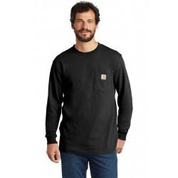 Carhartt   Workwear Pocket Long Sleeve T-Shirt. CTK126