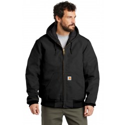 Carhartt   Tall Quilted-Flannel-Lined Duck Active Jacket. CTTSJ140