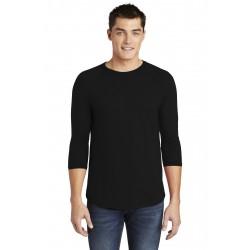 American Apparel   Poly-Cotton 3/4-Sleeve Raglan T-Shirt. BB453W