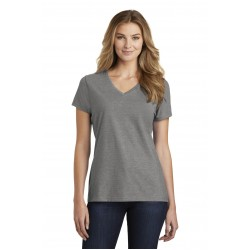 Port & Company   Ladies Fan Favorite & Blend V-Neck Tee. LPC455V