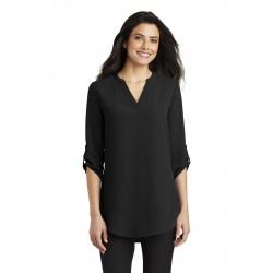 Port Authority  Ladies 3/4-Sleeve Tunic Blouse. LW701