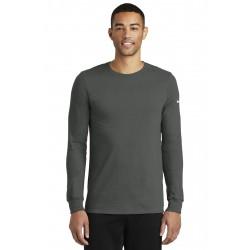 Nike Dri-FIT Cotton/Poly Long Sleeve Tee. NKBQ5230