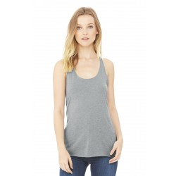 DISCONTINUED BELLA+CANVAS   Women's Triblend Racerback Tank. BC8430